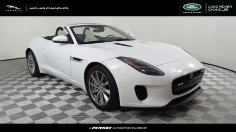 New 2018 Jaguar F-TYPE Convertible Automatic 340HP