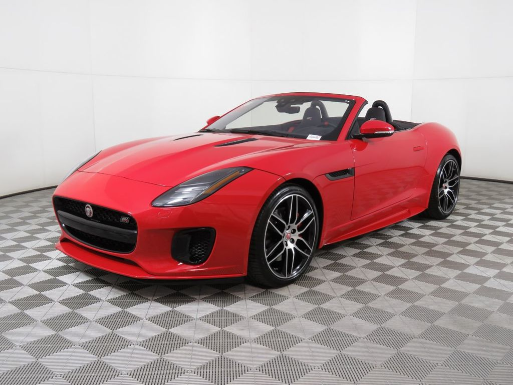 Jaguar F Type Convertible >> New 2020 Jaguar F Type Convertible Automatic P300 With Navigation
