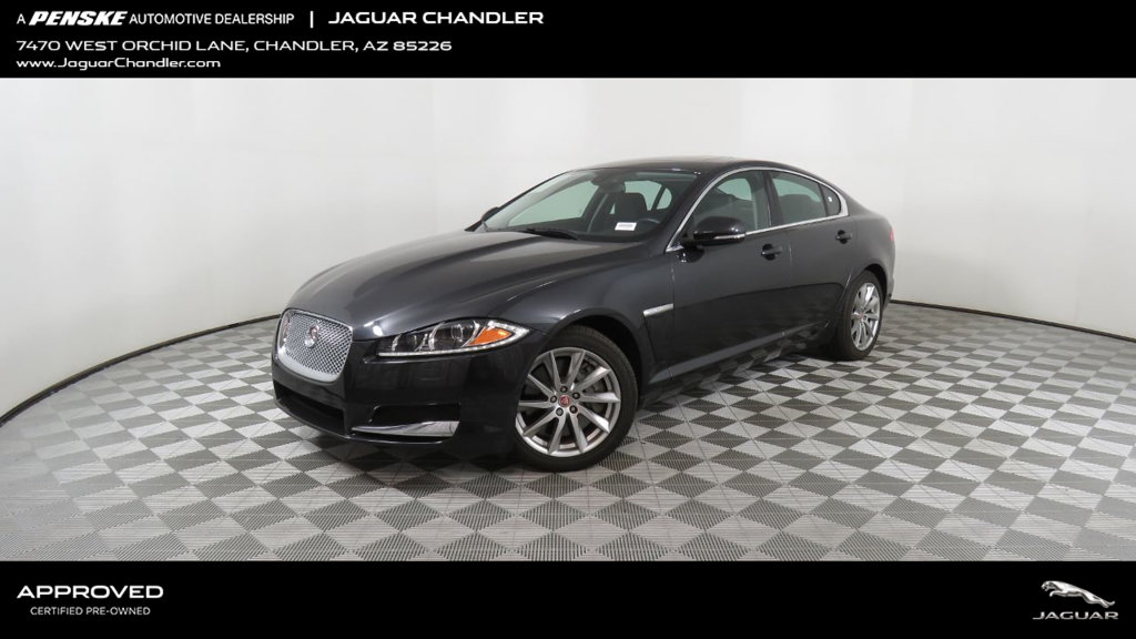 Certified Pre-Owned 2015 Jaguar XF 4dr Sedan I4 T Premium RWD