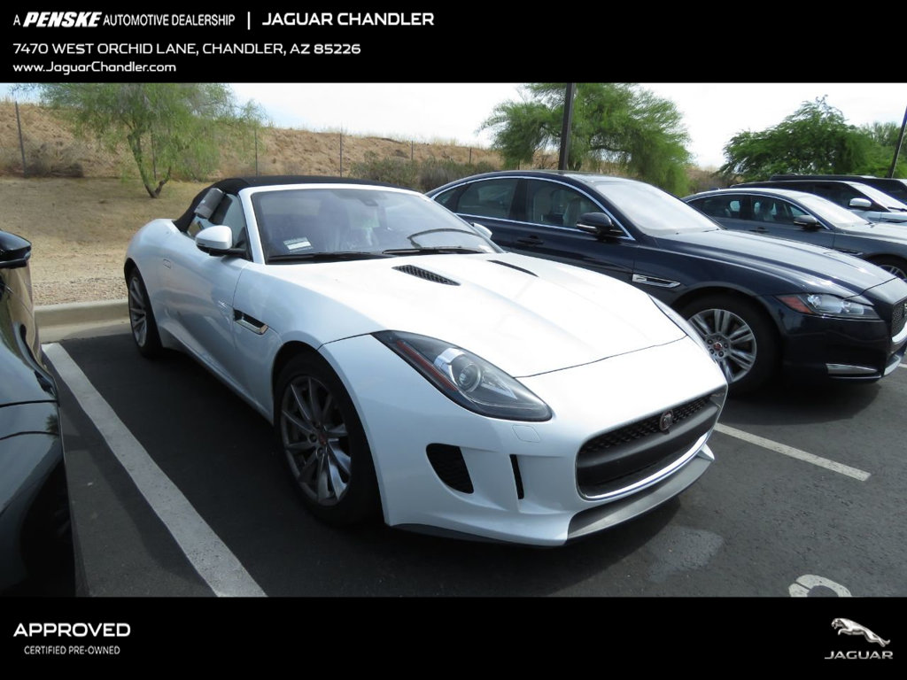 Certified Pre-Owned 2017 Jaguar F-TYPE Convertible Automatic Premium