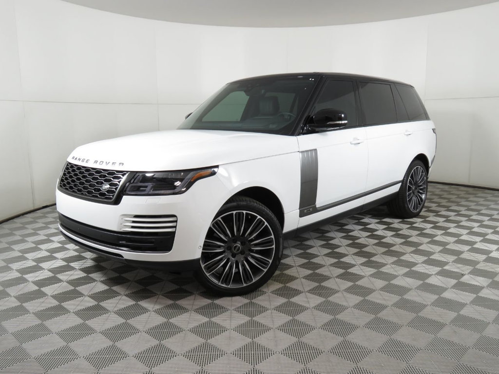 Certified Pre-Owned 2019 Land Rover Range Rover V8 Supercharged LWB