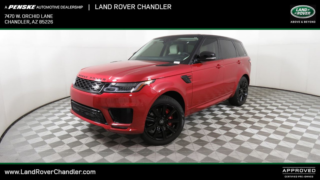 Certified Pre-Owned 2018 Land Rover Range Rover Sport V8 Supercharged