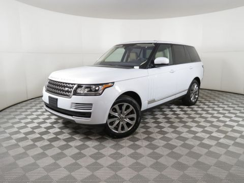 Certified Pre-Owned 2016 Land Rover Range Rover 4WD 4dr Diesel
